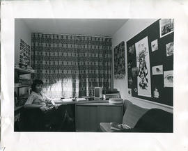 Photograph: Marylebone student bedroom
