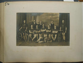 [page 54] One photograph; South African Olympic Team; 1908