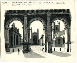 Drawing of Cambridge