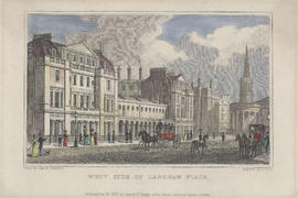 Engraving of the West Side of Langham Place