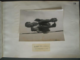 [Page 119] One Photograph: Kinnaird Trophy, Chiswick, June 1950; Leroy Crossley; high jump
