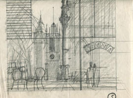 Initial Sketch for Westminster Study