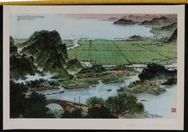 Today's Jiangnan is particularly charming. OR Fenwai bridge in today's Jiangnan.