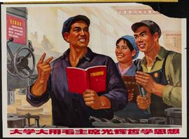 Study and use Mao's glorious phosophical ideas extensively