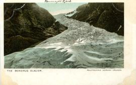 Colour postcard: The Bondhus glacier, Norway