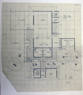 Floorplan for a sports centre