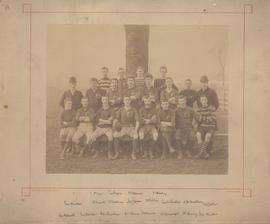 Photograph: Rugby team