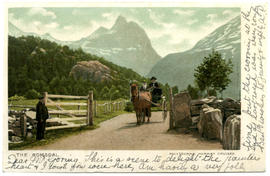 Colour postcard: The Romsdal, Norway