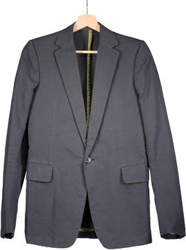 Carol Christian Poell Tailored Jacket With Contrast Overlocking