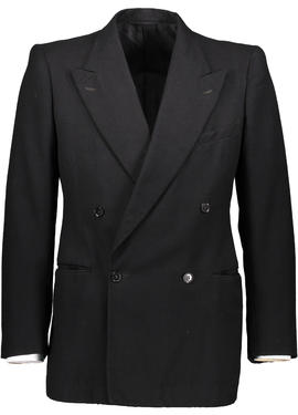 Montague Burton Black Double Breasted Jacket
